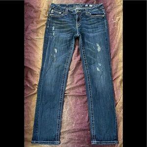 Miss Me Skinny Flap Pocket Jeans